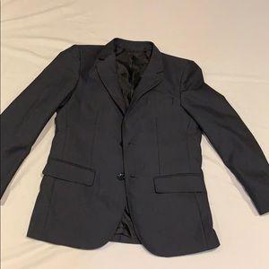 ⚡️Boys suit coat navy blazer jacket size 12